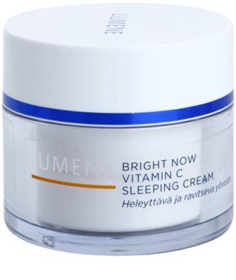 Lumene Bright Now Vitamin C éjszakai arckrém