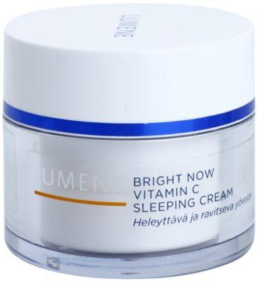 Lumene Bright Now Vitamin C Gesichtscreme für die Nacht