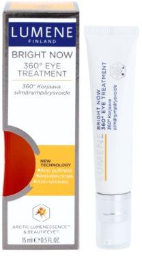 Lumene Bright Now 360° Eye Treatment cuidado de olhos antirrugas 1