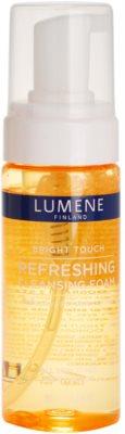 Lumene Bright Touch освіжаюча очищаюча пінка
