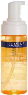 Lumene Bright Touch espuma limpiadora refrescante 1