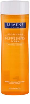 Lumene Bright Touch erfrischendes Gesichtswasser für normale Haut und Mischhaut