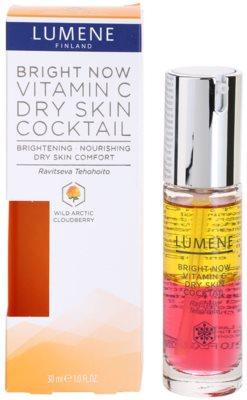 Lumene Bright Now Vitamin C+ cocktail hranitor ten uscat 2