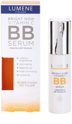 Lumene Bright Now Vitamin C+ élénkítő BB szérum 1