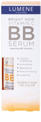 Lumene Bright Now Vitamin C+ élénkítő BB szérum 3