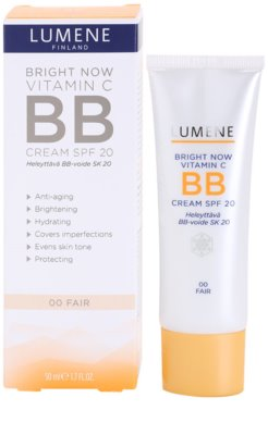 Lumene Bright Now Vitamin C+ BB krema SPF 20 1