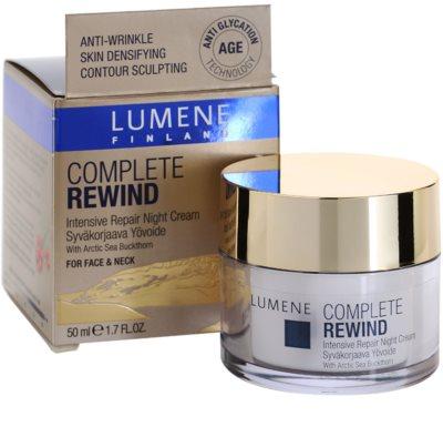 Lumene Complete Rewind intensive Verjüngungscreme für die Nacht 3