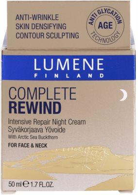 Lumene Complete Rewind intensive Verjüngungscreme für die Nacht 4