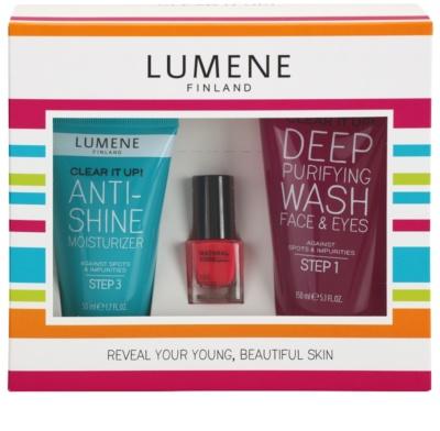 Lumene Clear It Up! kozmetika szett I.