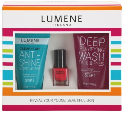 Lumene Clear It Up! lote cosmético I.