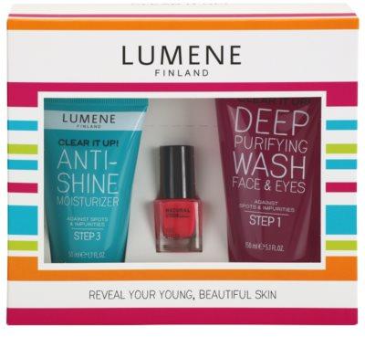 Lumene Clear It Up! zestaw kosmetyków I.