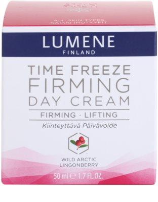 Lumene Time Freeze zpevňující denní krém proti vráskám 4