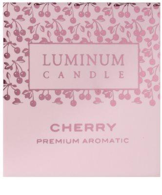Luminum Candle Premium Aromatic Cherry vela perfumado   pequeno (Sphere 60 mm, 15 Hours) 2