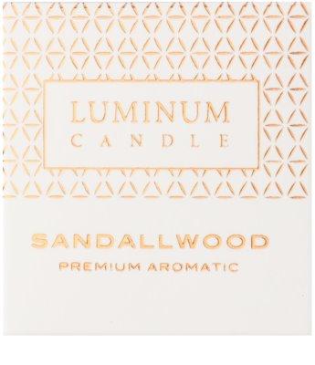 Luminum Candle Premium Aromatic Sandallwood Duftkerze    kleine (Sphere 60 mm, 15 Hours) 2