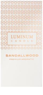 Luminum Candle Premium Aromatic Sandallwood illatos gyertya    nagy (Pillar 70 - 130 mm, 65 Hours) 2