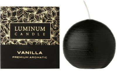 Luminum Candle Premium Aromatic Vanilla vonná svíčka   malá (Sphere 60 mm, 15 Hours)