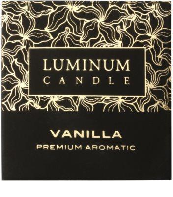 Luminum Candle Premium Aromatic Vanilla vonná svíčka   malá (Sphere 60 mm, 15 Hours) 2