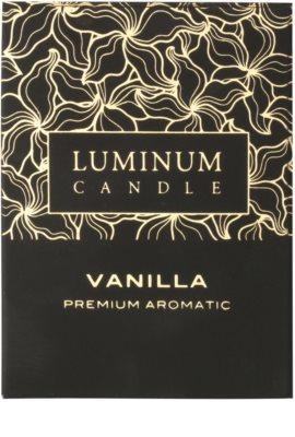 Luminum Candle Premium Aromatic Vanilla vonná sviečka   stredná (Pillar 60 - 80 mm, 32 Hours) 2