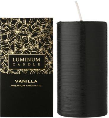 Luminum Candle Premium Aromatic Vanilla ароматна свещ    голяма (Pillar 70 - 130 mm, 65 Hours)