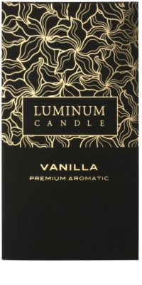 Luminum Candle Premium Aromatic Vanilla Scented Candle   Large (Pillar 70 - 130 mm, 65 Hours) 2