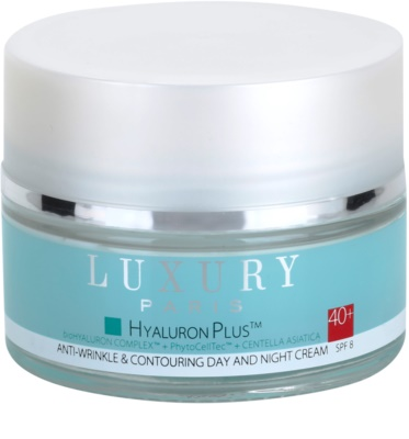 Luxury Paris Hyaluron Plus регенериращ крем против бръчки SPF 8