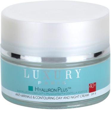 Luxury Paris Hyaluron Plus ránctalanító és regeneráló krém SPF 8