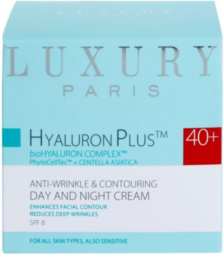Luxury Paris Hyaluron Plus Anti-Falten und Regenerationscreme SPF 8 2