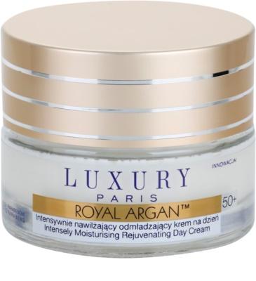 Luxury Paris Royal Argan зволожуючий та зміцнюючий денний крем проти зморшок 50+