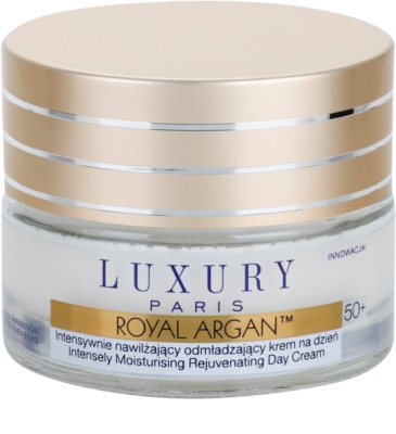 Luxury Paris Royal Argan vlažilna in učvrstitvena krema proti gubam 50+