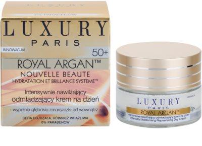 Luxury Paris Royal Argan vlažilna in učvrstitvena krema proti gubam 50+ 1