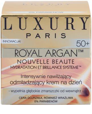 Luxury Paris Royal Argan vlažilna in učvrstitvena krema proti gubam 50+ 2