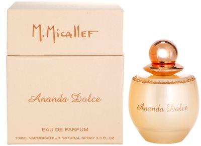 M. Micallef Ananda Dolce Eau De Parfum pentru femei