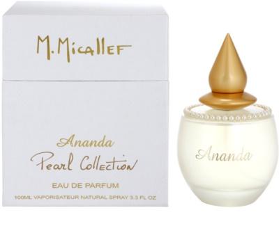 M. Micallef Ananda Pearl Collection parfumska voda za ženske