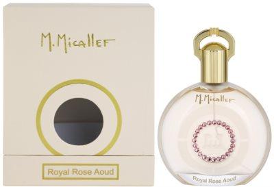 M. Micallef Royal Rose Aoud Eau de Parfum para mulheres