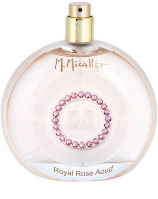 M. Micallef Royal Rose Aoud eau de parfum teszter nőknek