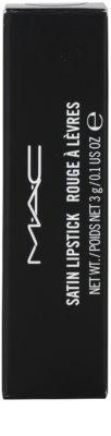 MAC Satin Lipstick червило 4