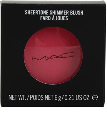 MAC Sheertone Shimmer Blush arcpirosító 2