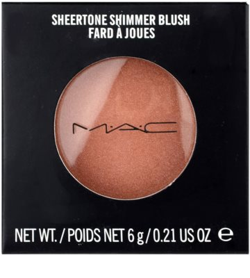 MAC Sheertone Shimmer Blush róż do policzków 3