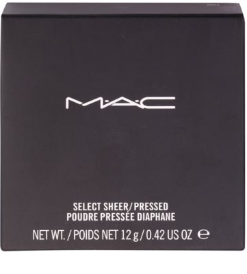 MAC Select Sheer/Pressed Fixierpuder 3