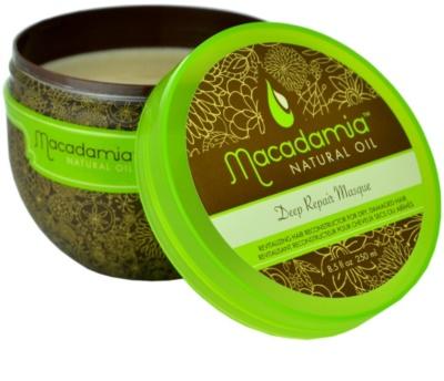 Macadamia Natural Oil Care máscara para cabelo seco a danificado 1