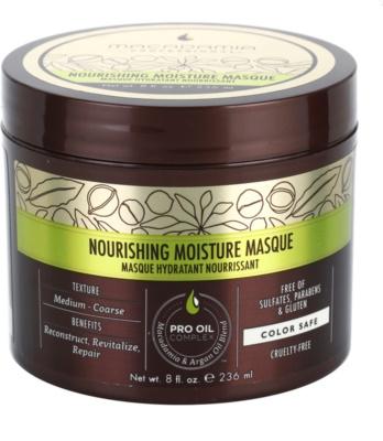 Macadamia Natural Oil Pro Oil Complex tápláló hajmaszk hidratáló hatással