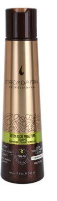 Macadamia Natural Oil Pro Oil Complex champô nutritivo para cabelo muito danificado