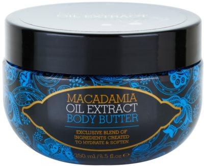 Macadamia Oil Extract Exclusive odżywcze masło do ciała do wszystkich rodzajów skóry