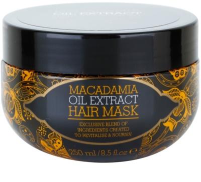 Macadamia Oil Extract Exclusive tápláló hajmaszk minden hajtípusra