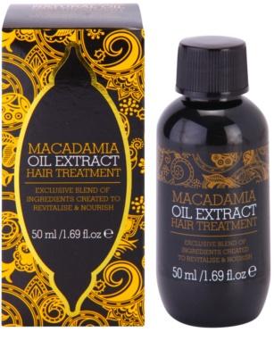 Macadamia Oil Extract Exclusive vyživující péče na vlasy 1