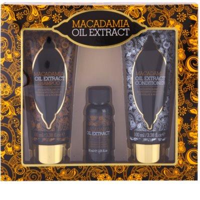 Macadamia Oil Extract Exclusive Kosmetik-Set  I.