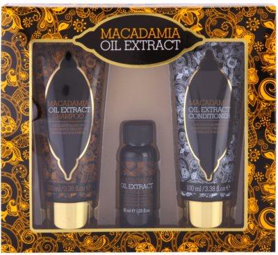 Macadamia Oil Extract Exclusive kozmetični set I.