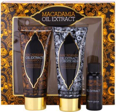 Macadamia Oil Extract Exclusive Kosmetik-Set  I. 2