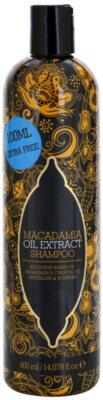 Macadamia Oil Extract Exclusive tápláló sampon minden hajtípusra
