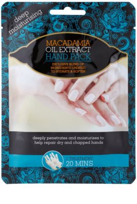 Macadamia Oil Extract Pack guantes hidratantes